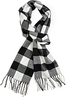 Best womens black and white checked scarf Reviews