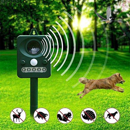 LCYCN Ultraschall Mückenabwehr Elektronisches LED-Licht-Ultraschall-Pfeifen-Hundeabwehrmittel in der Schädlingsbekämpfung