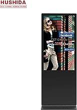 HUSHIDA 65 inch Commercial Floor-Standing Digital Signage, 1080p Full HD Display LCD Advertising Digital Marketing Kiosk for Information Display