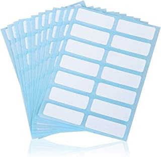 File Folder Labels Name Filing Envelopes Label Stickers, 0.5 x 1.5 in, Small Label Nametags for Jars, Bottles, Food Containers, File Folders, Pack of 168