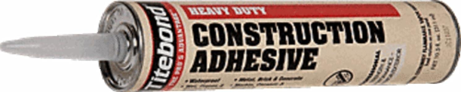 Franklin 5261 Titebond Heavy Duty Construction Adhesive - 10.5-oz Cartidge
