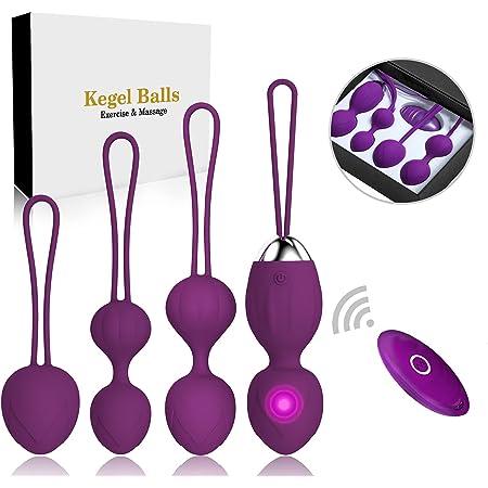 Kegel Balls Ben Wa Balls Exercise Weights Kegel Exercise for Women Pelvic Floor Tightening Exercises,Beginners & Advanced Kegel Balls for Womenercises Bladder Control & Pelvic Floor (Purple)