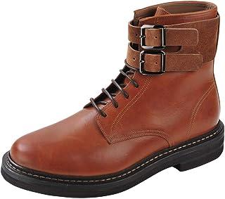 BRUNELLO CUCINELLI Chaussures Homme Marron 100% Cuir Bottes 45