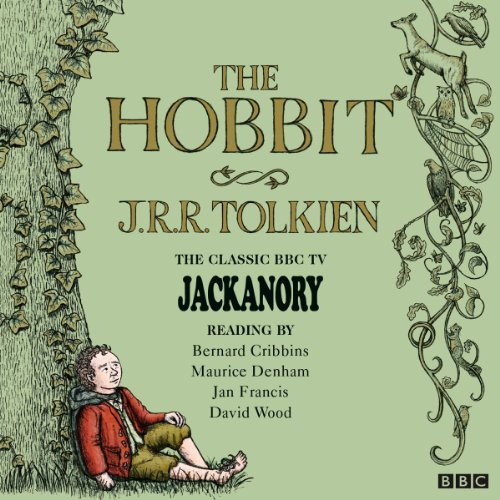 The Hobbit: Jackanory audiobook cover art