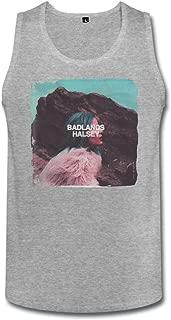 SIANDA Women's Halsey Badlands Album Tank Top HeatherGray