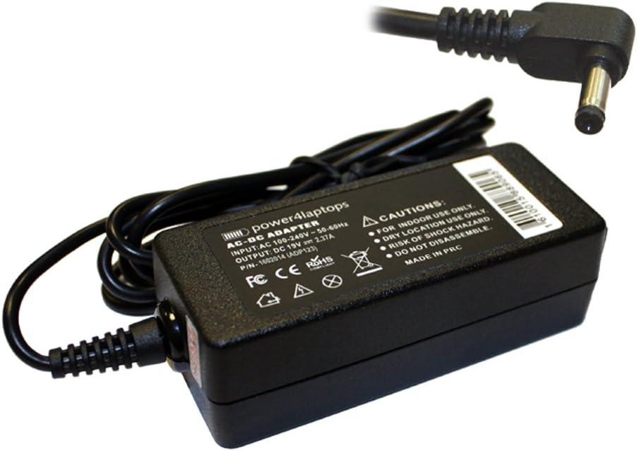 Power4Laptops Adaptador Fuente de alimentación portátil Cargador Compatible con ASUS a541U