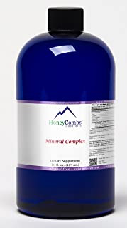 16oz Mineral Complex – Essential & Trace Minerals Plus Organic Herbs – 16-Ounce Alcohol-Free Liquid Extract