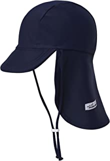 Vaenait Baby Infant & Kids Unisex Boys & Girls Sun Protection Sporty Flap Swim hat UV Flap Cap