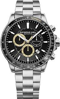 Raymond Weil - Reloj de Cuarzo Raymond Weil Tango, Negro, 43 mm, Cronógrafo, 8570-ST1-20701