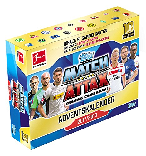 Topps Match Attax Adventskalender Bundesliga Saison 2017-2018