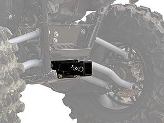 """SuperATV Rear Hitch Receiver for Kawasaki Teryx KRX 1000 (2020+) - Fits Standard 2"""" Attachments"""