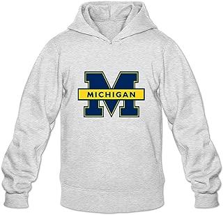 Oryxs Men's Michigan Wolverines Sweatshirt Hoodie