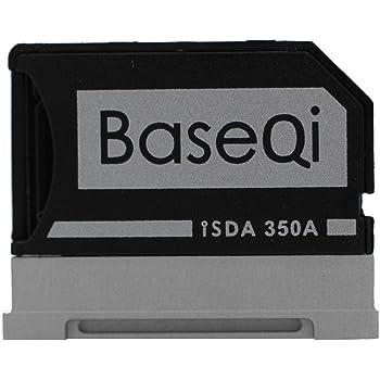 "BASEQI Aluminum MicroSD Adapter for Microsoft Surface Book, Surface Book 2, Surface Book 3 13.5"" (Model-350A)"