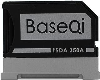 BASEQI Aluminum MicroSD Adapter for Microsoft Surface Book & Surface Book 2 13.5