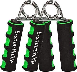 E-smartinlife 2 Pack Hand Grip Strengthener Set,Finger Gripper- Soft Foam Hand Exerciser for Quickly Increasing Wrist Forearm and Finger Strength