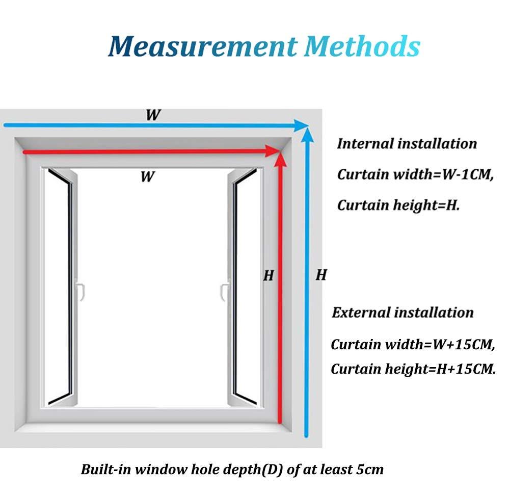 Cortina enrollable exterior Porticato Roll Up Shades opaca para manta/ pérgola/balcón/patio, patio con cenador exterior con enganches (tamaño: 135 x 160 cm): Amazon.es: Hogar