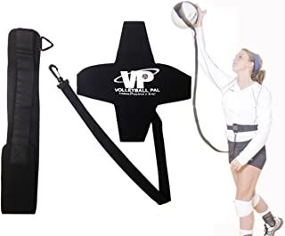 Tandem Sport Volleyball Pal Warm Up Training Aid for Solo Practice, Adjustable Elastic Cord and Waist Strap