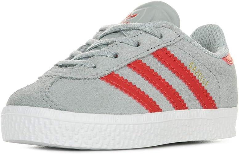 adidas Gazelle, Sneakers Basses Mixte Enfant, Gris, 26 EU: Amazon ...