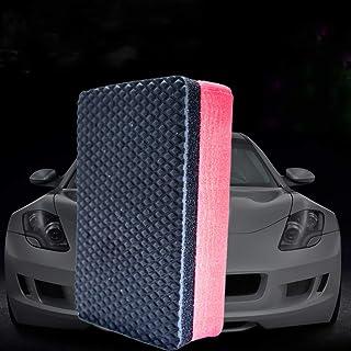 Bingcute 2 Pack Magic Clay Sponge, 9 * 5.5 * 2.6 CM Bar Car Pad Block Cleaning Eraser Wax Polish Pad Tool for Car and Home...