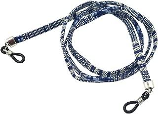 Trekking Equitazione 5 Pz//Set Pratico Sport Occhiali String Strap Cord Holder per Sport Arrampicata ECC AYNEFY Occhiali Cord
