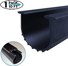 Garage Door Bottom Weather Stripping Kit Rubber Seal Strip Replacement, Universal Sealing Professional Grade T Rubber,5/16