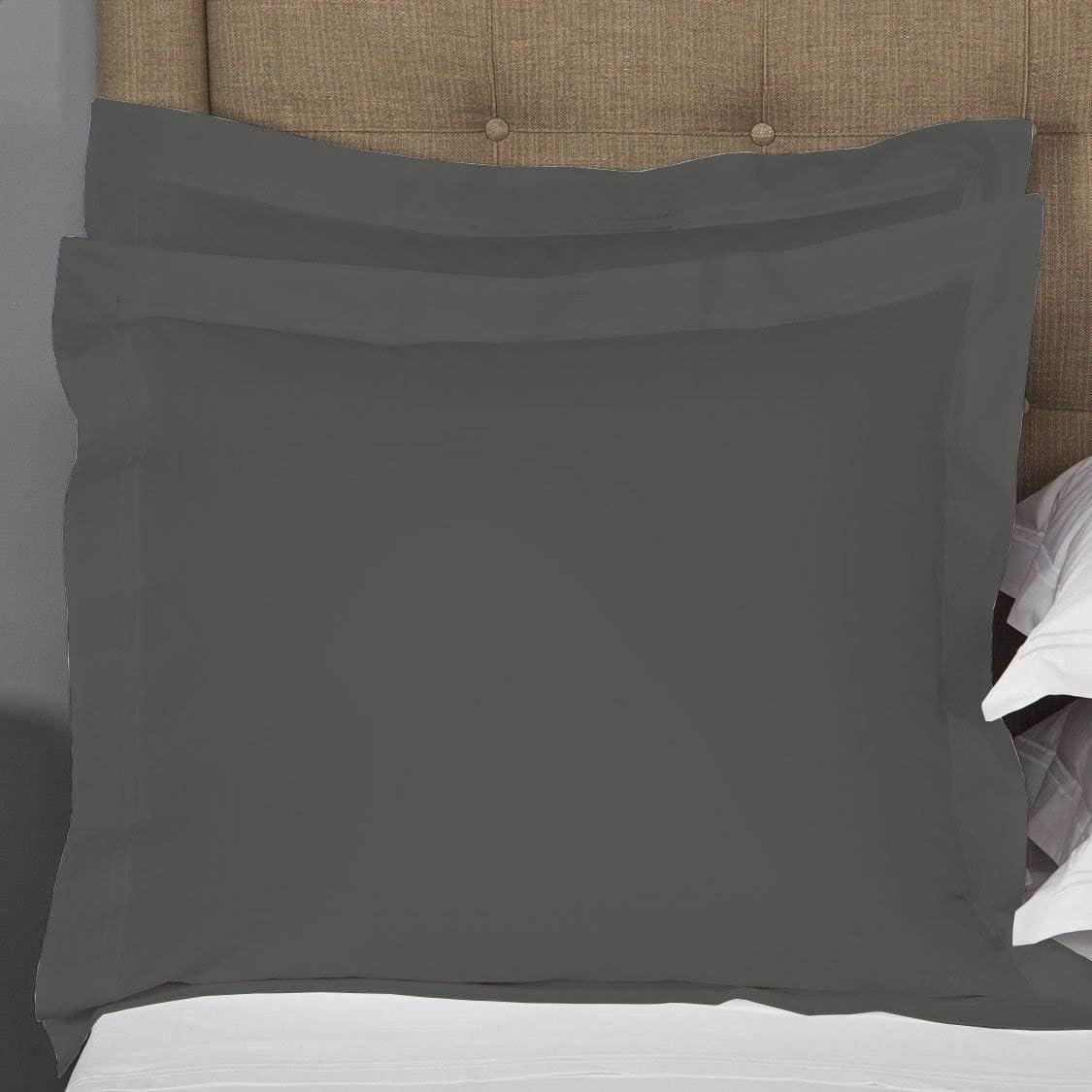 Comfort Beddings Paire de taies doreiller 100 /% coton /égyptien 400 fils Oxford Blanc Taille XL 55,9 x 78,7 cm