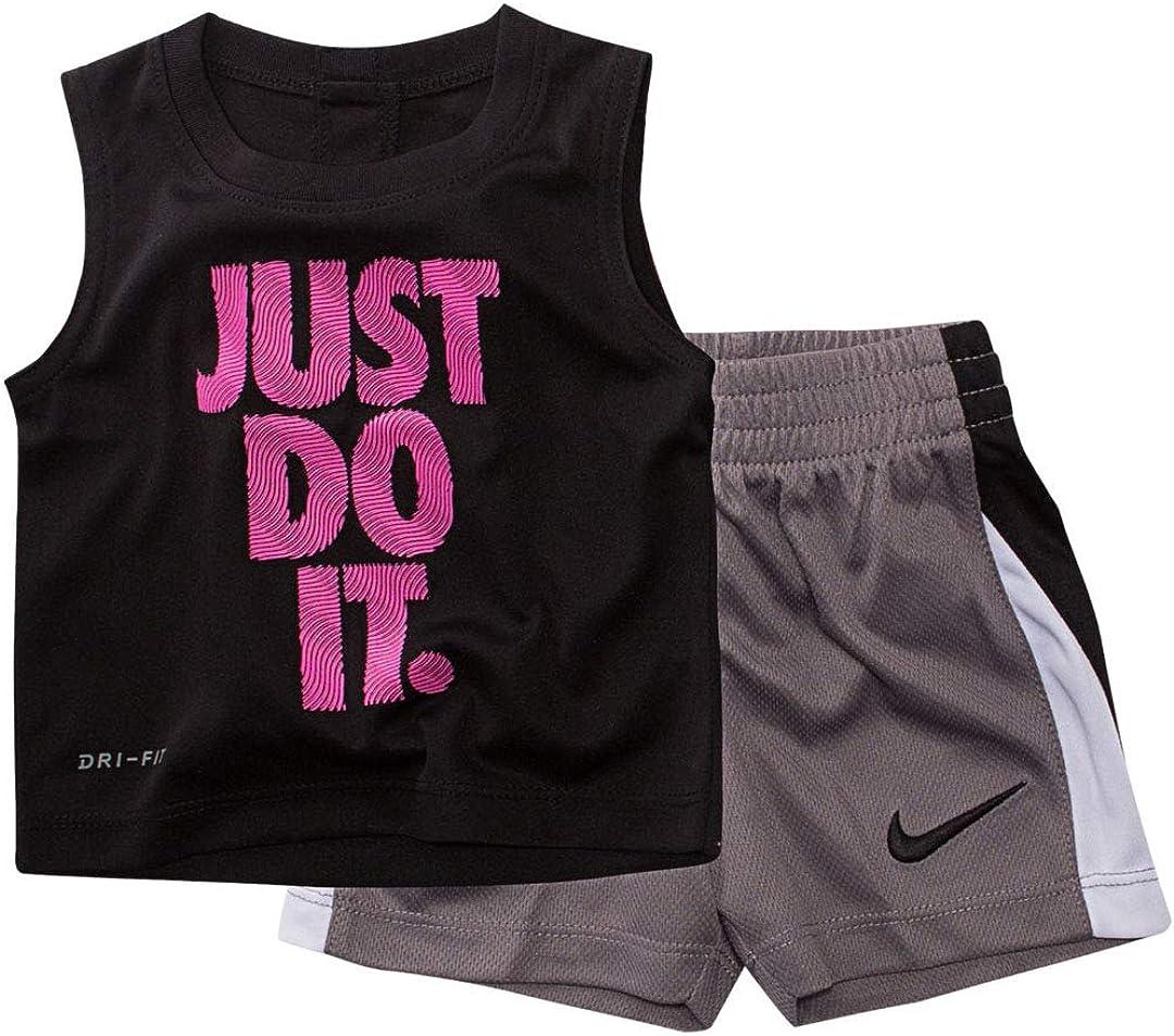 Nike Toddler Graphic Tee & Shorts Set