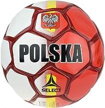 Select Unisex volwassenen POLSKA WHT-RED_5 bal, wit, 5