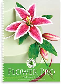 Flower Pro, Volume Two Book, Make Sugar Flowers, Includes Size Guide for Sugarcraft Modelling & Crafts