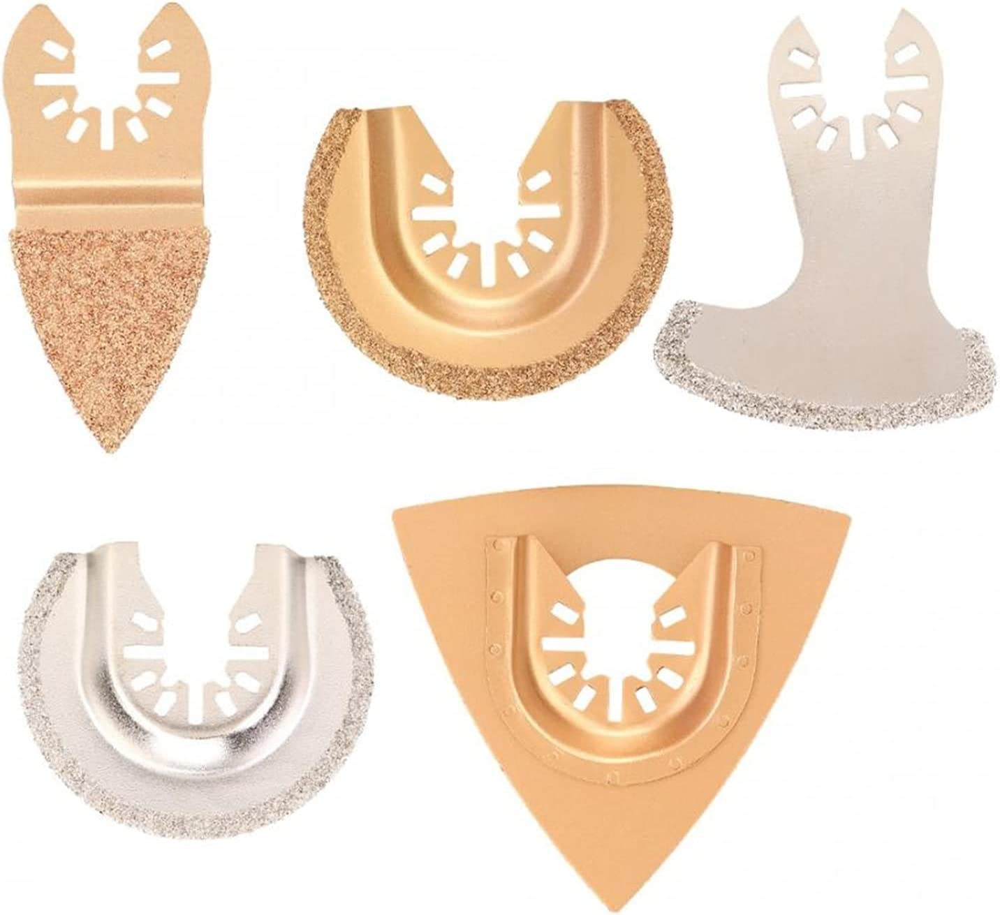 KESHIKUI Directly outlet managed store New MEI 5Pcs Carbide Saw Mult Blade Diamond Oscillating