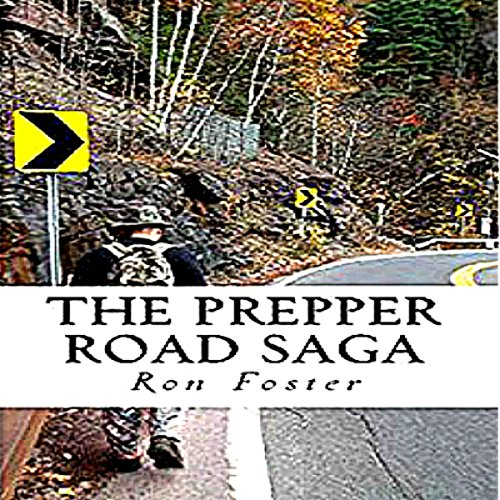 The Prepper Road Saga audiobook cover art