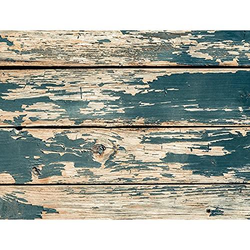 Fondo de fotografía de tablón de Madera apoyos Piso de tablón Fondo de Estudio fotográfico Fondo de fotografía de Vinilo A7 10x7ft / 3x2,2 m