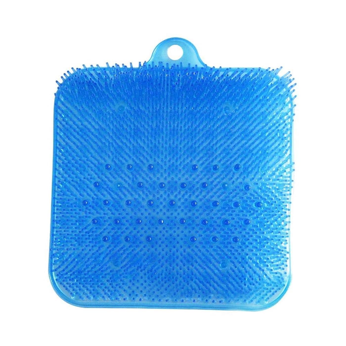 封建過敏なグリルPROKTH フットブラシ 滑らない吸盤付き 角質ケアブラシ 健康グッズ マッサージ マット 足洗いマット 足裏ケア 丈夫 耐用 使い方が簡単 足洗いブラシ