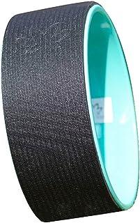 Fitness Circles Yoga Wheel Beginner Yoga Supplies Dharma Wheel Lower Waist Yoga Back Bend Pilates Ring Fitness Equipment Weight 150KG (Color : Green, Size : 13 * 32cm)