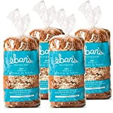 Eban's Bakehouse Fresh Baked Gluten-Free Oat Bread - 4 Loaves - 100% Natural - Soy, Wheat and Dairy Free, Preservative Free, Non-GMO (26oz, 737g Each)