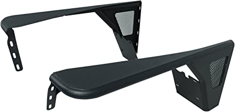 Paramount Restyling 51-0041 Black Front Steel Fender with Mesh Insert (Jeep Wrangler TJ)