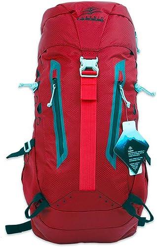 Sac à dos randonnée Sac Alpinisme épaule homme femme sac à dos de randonnée en plein air Sacs à dos de randonnée ( Couleur   Rouge , taille   50L )
