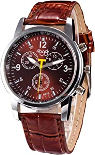 Luxury Men's Watch Faux Leather Wrist Watches Clearance Sale Gifts