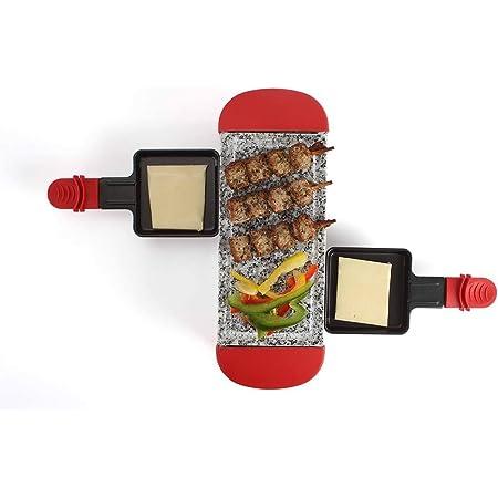 Livoo - Appareil à raclette 2 personnes DOC156R Rouge