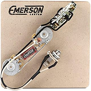 Emerson Custom Telecaster 3-Way Thinline Control Layout Prewired Kit w/ 250K Ohm Pots