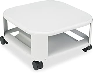 Martin Yale Mead-Hatcher Mobile Two Shelf Steel Printer Stand, Accepts Most Sizes of Laser and Inkjet Printers, Up To 18