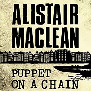 Puppet on a Chain audiobook cover art