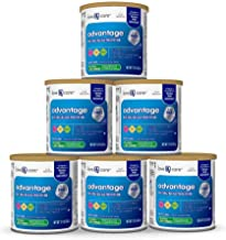 Love & Care Advantage Non-GMO* Infant Formula Milk-Based Powder with Iron, 12.4 Ounce (Pack of 6)