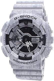 Casio G-Shock Men's Analog-Digital Gray Strap Watch GA110SL-8A