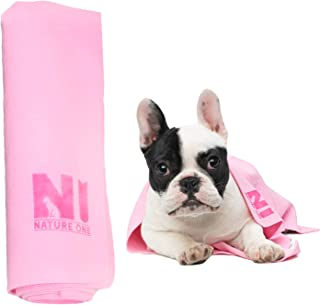 NATURE ONE Pet Towel Dog Towel Cat Towel Dirt-Resistant and Super Absorbent Machine Washable Suitable for Any Size Pets