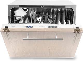 Klarstein Amazonia 6 Secret lavavajillas para montar - Máquina lavaplatos, Solo 174 kWh/Jahr, 6 Programas, Pantalla LED, A...