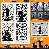 Zoom IMG-1 170pz adesivi finestre di halloween