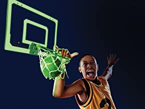 SKLZ Pro Mini Basketball Hoop with Ball, Glow in the Dark (18 x 12 inches)