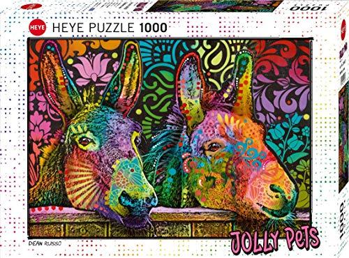 Heye Donkey Love 1000 Teile Puzzle, White