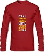 Men's Dividing by zero is not a game Long Sleeve T-Shirt